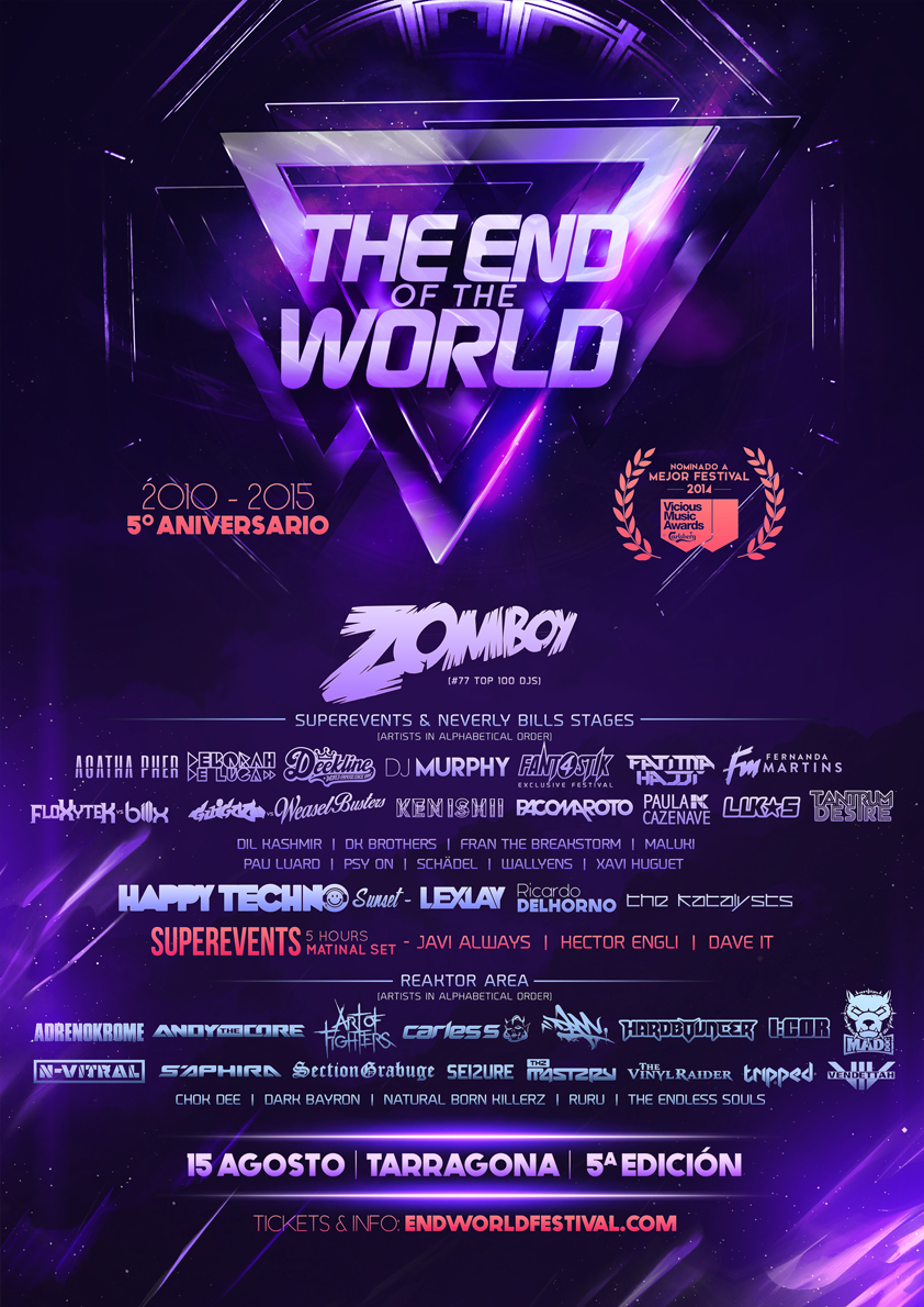 The End of the World Festival 2015