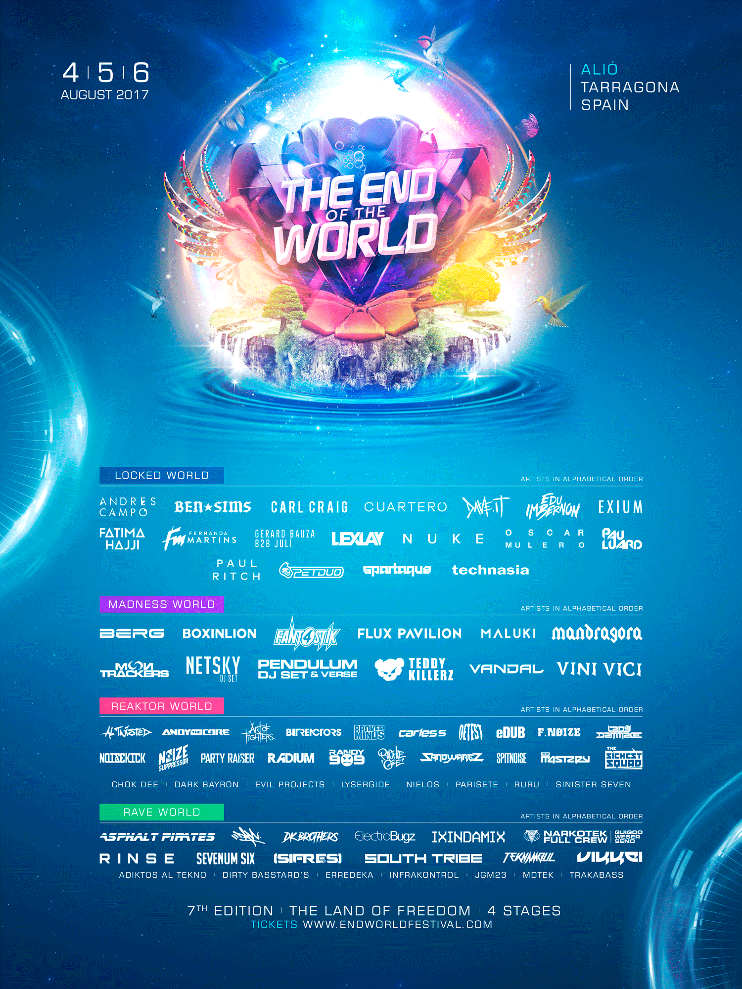 The End of the World Festival 2017