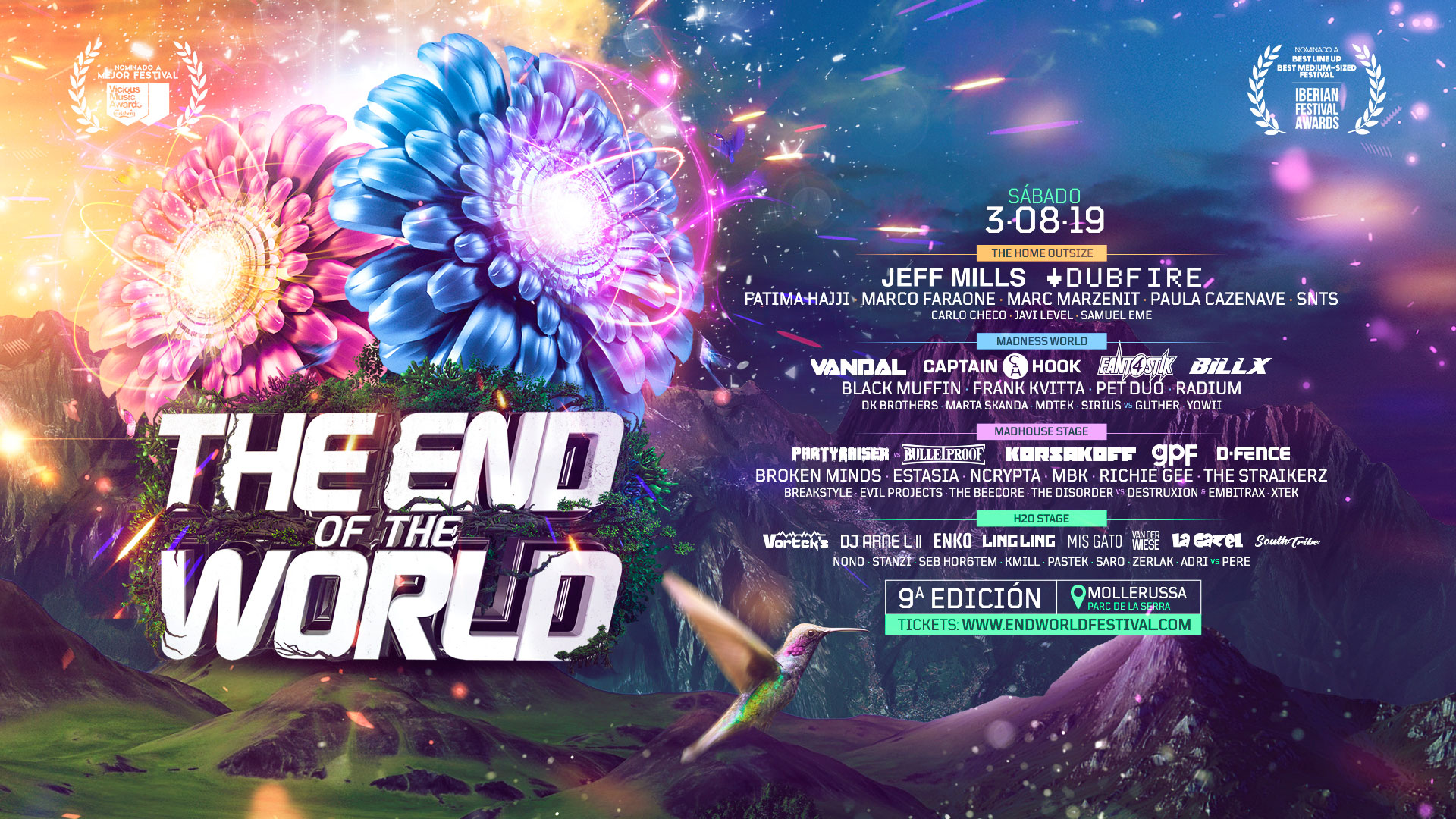 he End of the World Festival 2019